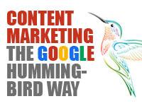 Content marketing the Google Hummingbird way